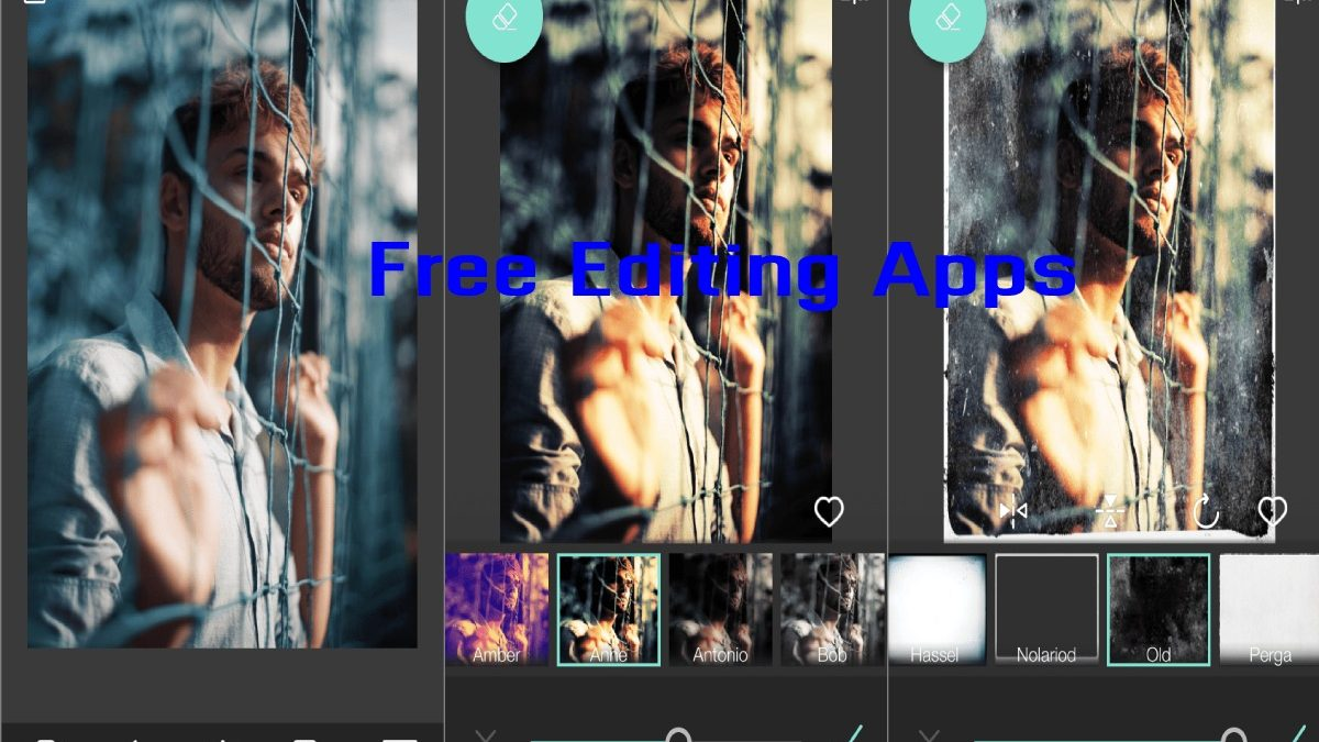 Free Editing Apps – Best free apps to edit photos with your cell phone