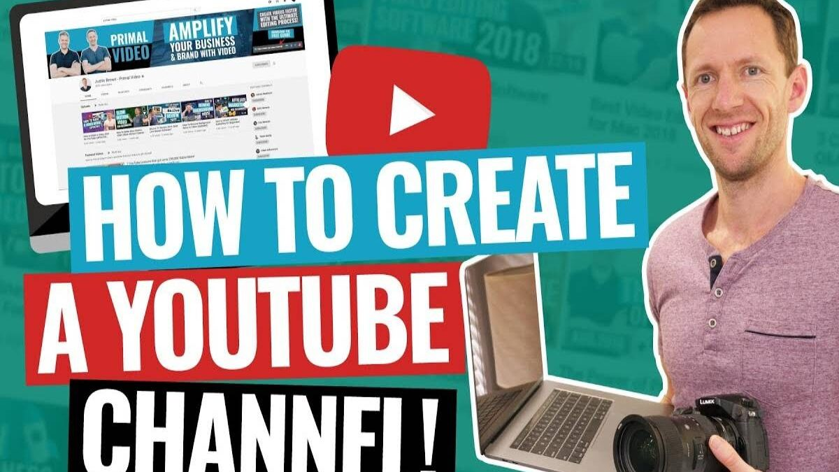 YouTube channel – How to create a YouTube channel for beginners 2021
