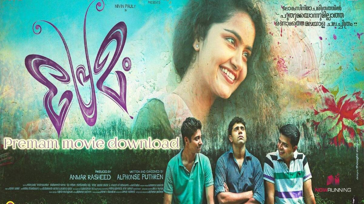Premam (2015) HDRip Telugu Full Movie Watch and Download for free