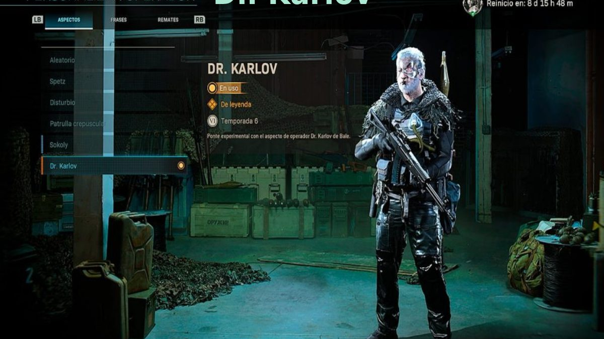 Dr. Karlov – Know More About The New Character Dr. Karlov In Haunting Of Verdansk