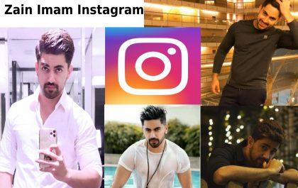 Zain Imam Instagram