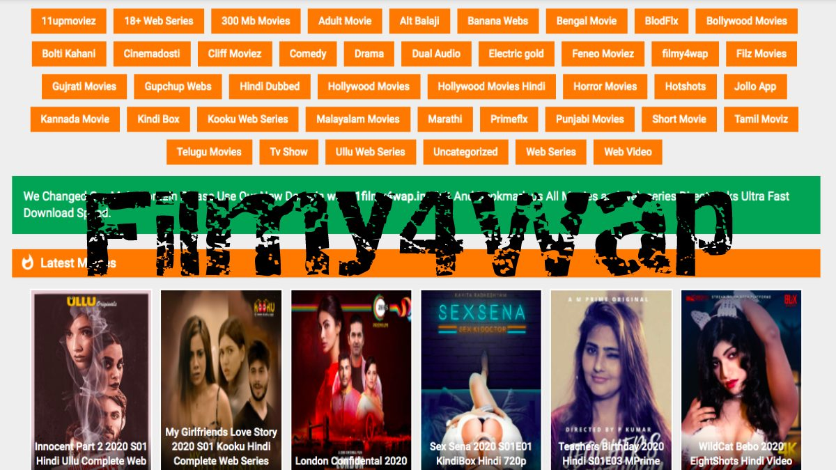 Filmy4wap 2021 – Illegal HD Movies Download Website Bollywood and Hollywood
